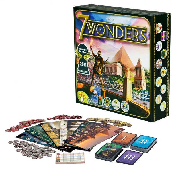 7 Wonders Desplegado