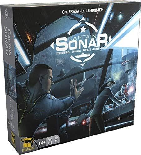Captain Sonar Caja