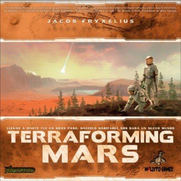 Terraforming Mars Portada