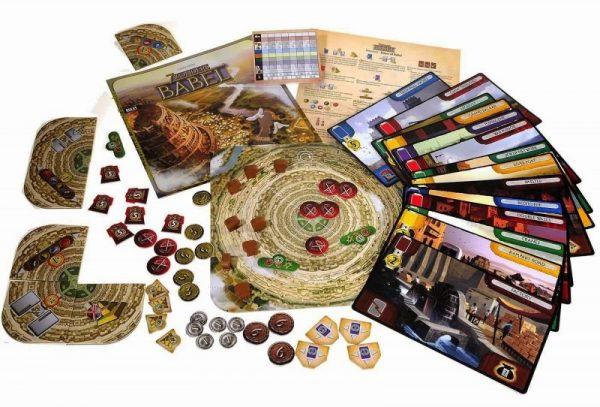 7 Wonders: Babel Desplegado