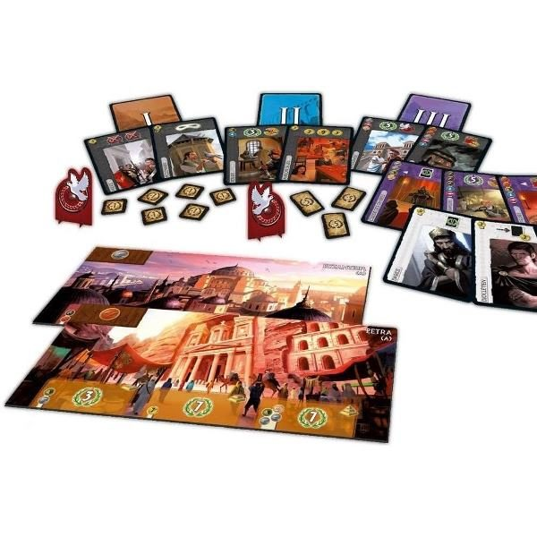 7 Wonders: Cities Desplegado
