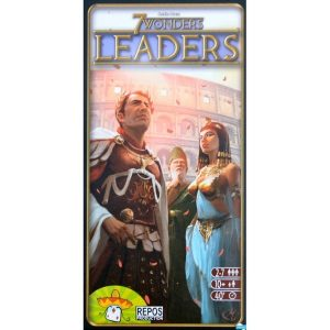 7 Wonders: Leaders Portada