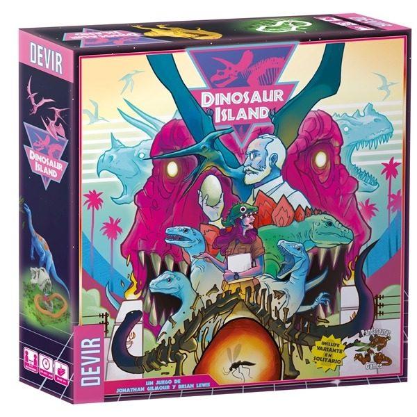 Dinosaur Island Caja