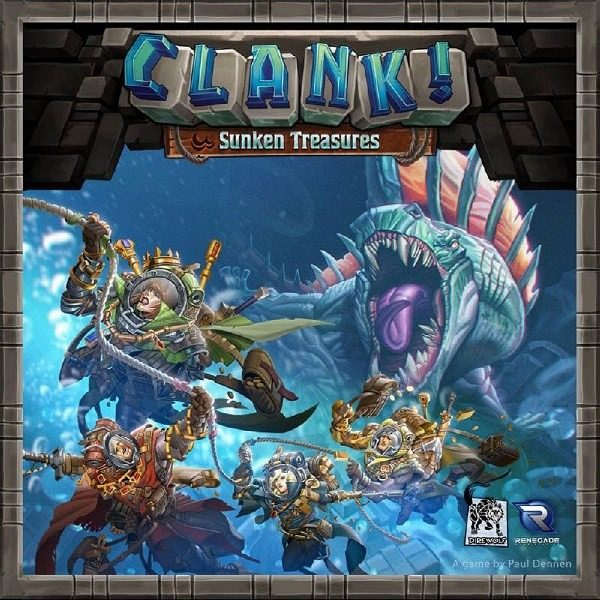 Clank Tesoros Sumergidos Portada