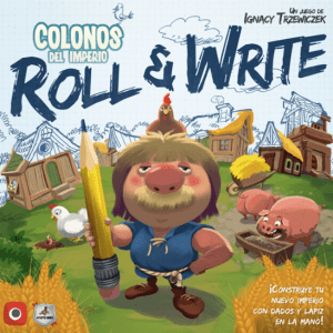 Colonos del Imperio Roll & Write Portada