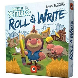 Colonos del Imperio Roll & Write Caja