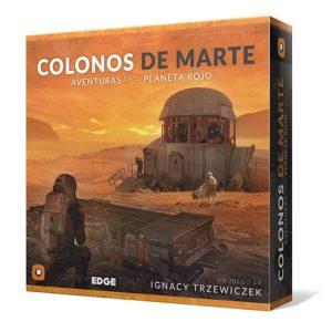 Colonos de Marte Caja
