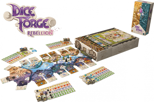 Dice Forge Rebellion Desplegado