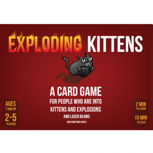 Exploding Kittens Portada