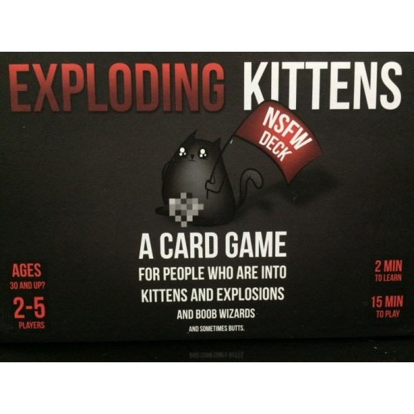 Exploding Kittens NSFW Portada