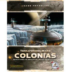 Terraforming Mars: Colonias Portada