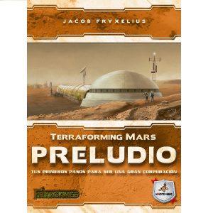 Terraforming Mars: Preludio Portada