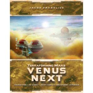 Terraforming Mars: Venus Next Portada