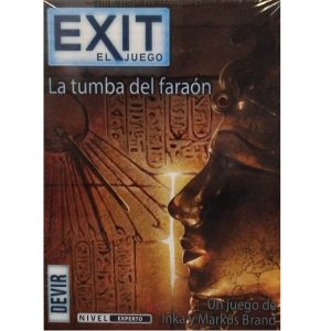 Exit La tumba del faraon Portada