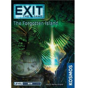 Exit La isla olvidada Portada