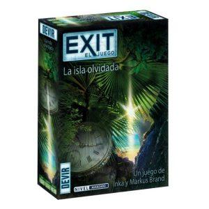 Exit La isla olvidada Caja