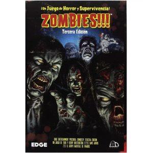 Zombies!!! Portada