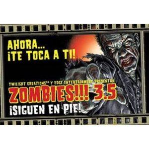 Zombies!!! 3.5 Portada