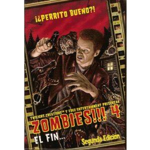 Zombies!!! 4 Portada