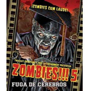 Zombies!!! 5 Portada