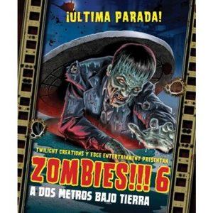 Zombies!!! 6 Portada