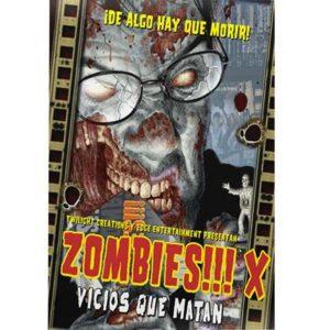 Zombies!!! X Portada
