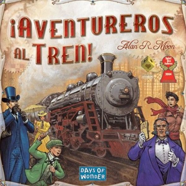 Aventureros al Tren Portada
