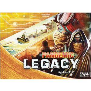 Pandemic Legacy Segunda Temporada Portada