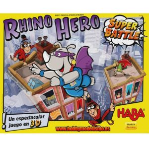Rhino Hero Super Battle Portada