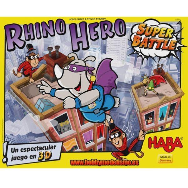 Rhino Hero Super Battle Portada