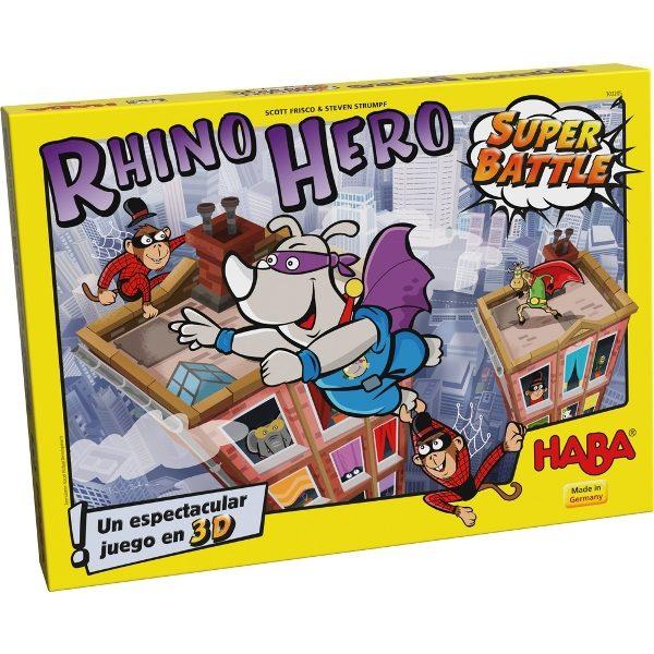 Rhino Hero Super Battle Caja