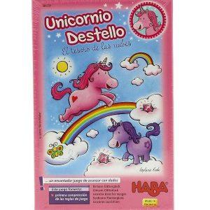 Unicornio Destello El Tesoro de las Nubes Portada