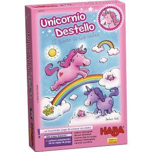 Unicornio Destello El Tesoro de las Nubes Caja