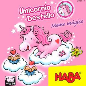 Unicornio Destello Memo Magico Portada