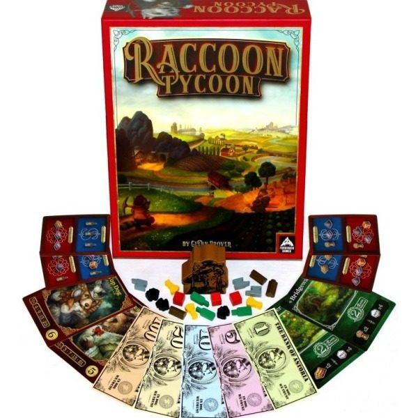 Raccoon Tycoon Desplegado