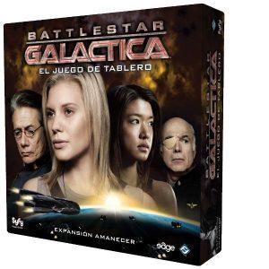 Battlestar Galactica Amanecer Caja