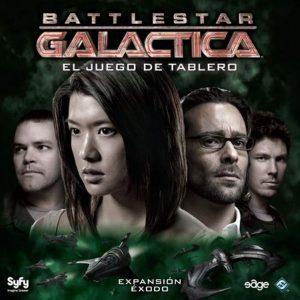 Battlestar Galactica Exodo Portada