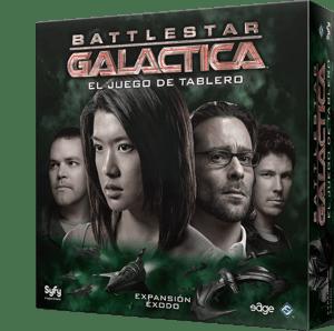 Battlestar Galactica Exodo Caja
