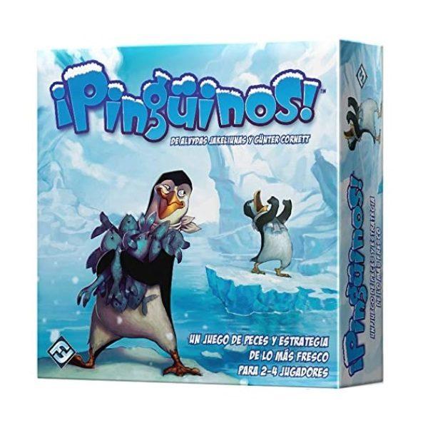 ¡Pingüinos! Caja