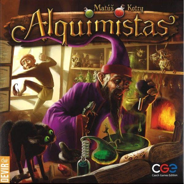 Alquimistas Portada
