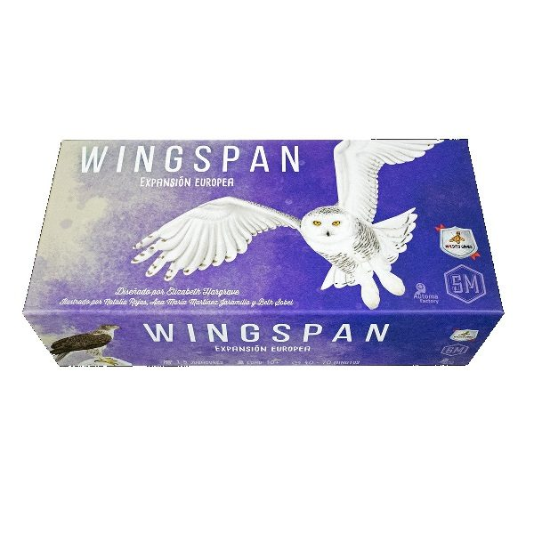 Wingspan: Expansion Europea Caja
