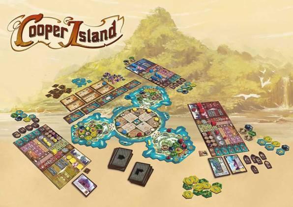 Cooper Island Desplegado