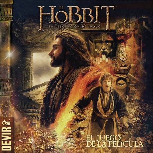 El Hobbit: La Desolacion de Smaug Portada