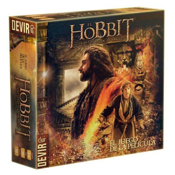 El Hobbit: La Desolacion de Smaug Caja