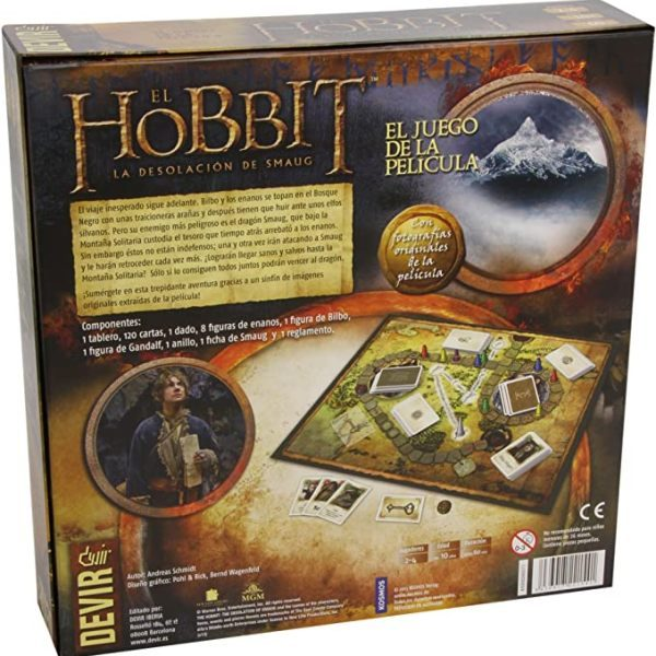 El Hobbit: La Desolacion de Smaug Contraportada