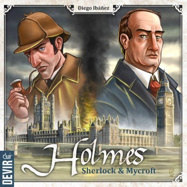 Holmes Sherlock y Mycroft Portada