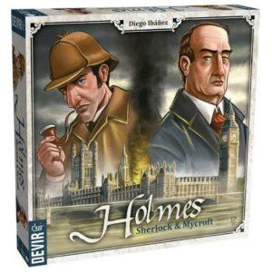 Holmes Sherlock y Mycroft Caja