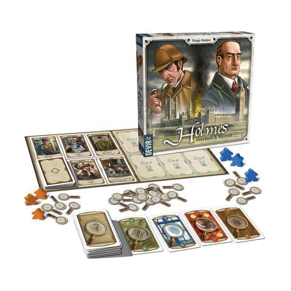 Holmes Sherlock y Mycroft Desplegado