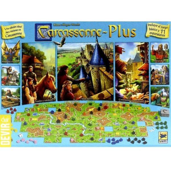 Carcassonne Plus Portada