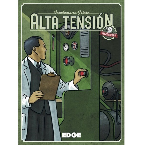 Alta Tension Reenergizado Portada